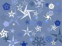 Snowstars Royalty Free Stock Image