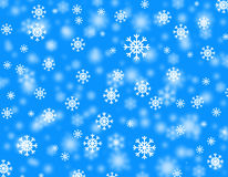Snowstorm Royalty Free Stock Photo