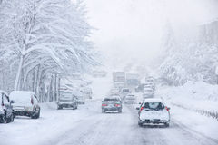 Snowstorm Royalty Free Stock Photos