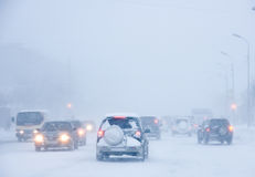 Snowstorm Stock Photography