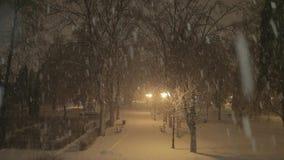 snowstorm arkivfilmer