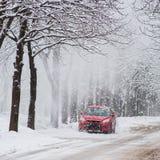 snowstorm στοκ εικόνες με δικαίωμα ελεύθερης χρήσης