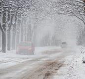 snowstorm στοκ εικόνες