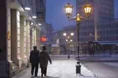 snowstorm Στοκ φωτογραφία με δικαίωμα ελεύθερης χρήσης