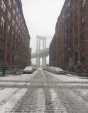 snowstorm Fotografía de archivo libre de regalías