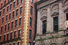 Snowstorm in boston Royalty Free Stock Photos