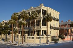 Free Snowstorm In Charleston, SC Royalty Free Stock Image - 107854346