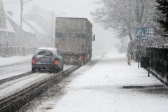 Snowstorm. Royalty Free Stock Photos