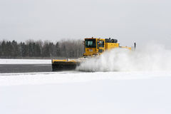 Snowsweeper Image stock