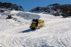 snowtransport Arkivfoton