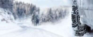 Snowtyre Стоковая Фотография