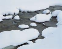 snowvatten Royaltyfria Foton