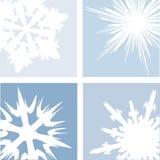 snowvinter stock illustrationer