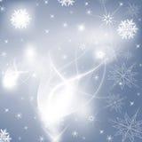 Snowvinterbakgrund Stock Illustrationer