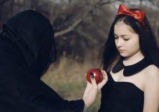Snowwhite des contes de fées Photo libre de droits