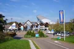 Snowworld, Zoetermeer, Pays-Bas image libre de droits