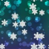 Snowy произвел текстуру предпосылки Стоковое Изображение RF
