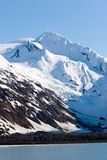 Snowy Alaska mountain peaks Stock Photos