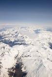 Snowy Alaskan landscape Stock Photos