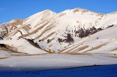 Snowy apennines в зиме Стоковые Изображения RF