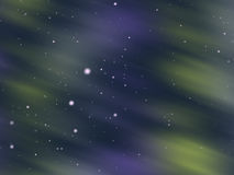 Snowy aurora glow background Royalty Free Stock Photos