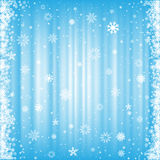 The snowy background Stock Images