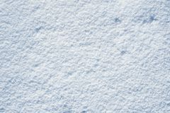Snowy Background Stock Photography