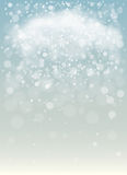 Snowy background. Winter Snowy background. Vector Illustration Stock Images