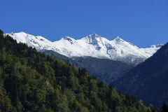 Snowy-Berg Kackar Lizenzfreies Stockbild