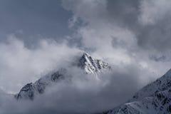 Snowy-Berge 2 stockbild