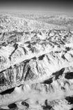 Snowy-Bergspitzen Erdoberfläche Umweltschutz und Ökologie Entdeckung und Abenteuer Mutter Erde gab uns stockfotografie