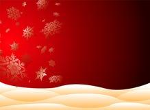 Snowy christmas Stock Photo