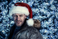 Snowy christmas Stock Photography