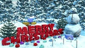 Snowy Christmas Loop