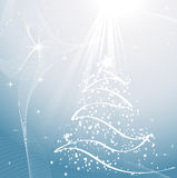 Snowy Christmas tree Royalty Free Stock Photo