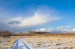 Snowy cloud Stock Photos