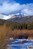 Snowy Colorado Mountains Royalty Free Stock Images