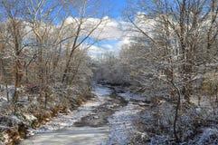 Snowy Creek Royalty Free Stock Photo