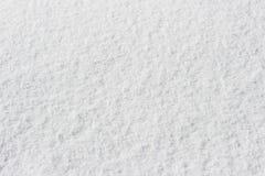 Snowy crust, white background Stock Photos