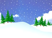 Snowy days Royalty Free Stock Image
