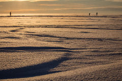 Snowy expanse Royalty Free Stock Photography