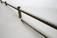 Free Snowy Fence Stock Photo - 4378310