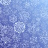 Snowy flow Royalty Free Stock Images