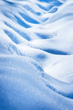 Snowy footpath Stock Photography