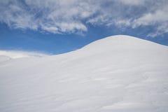 Snowy-Hügel Lizenzfreie Stockbilder