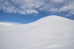 Snowy hills Royalty Free Stock Images