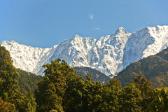 Snowy Himalayan range Royalty Free Stock Image