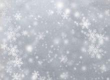 Snowy-Hintergrund stock abbildung