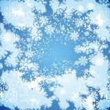 Snowy-Hintergrund Lizenzfreie Stockbilder