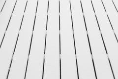 Snowy-Holzbretter Stockbild